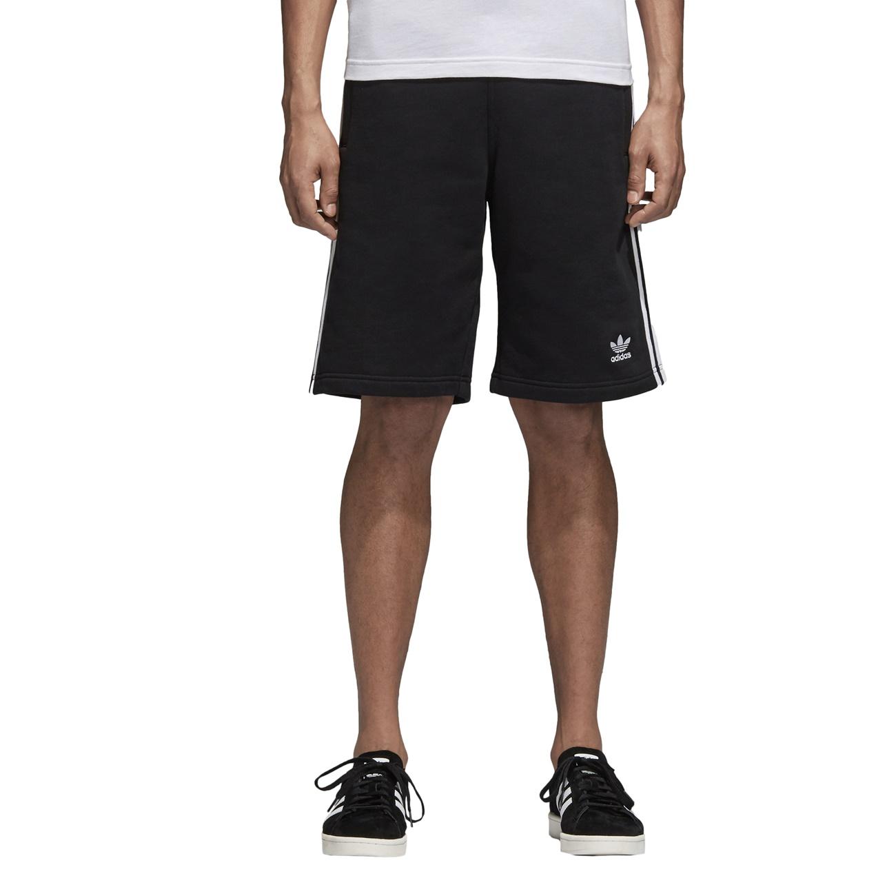 Molester Evacuación ecuador  Adidas Originals 3-Stripes Short (Black) - manelsanchez.com