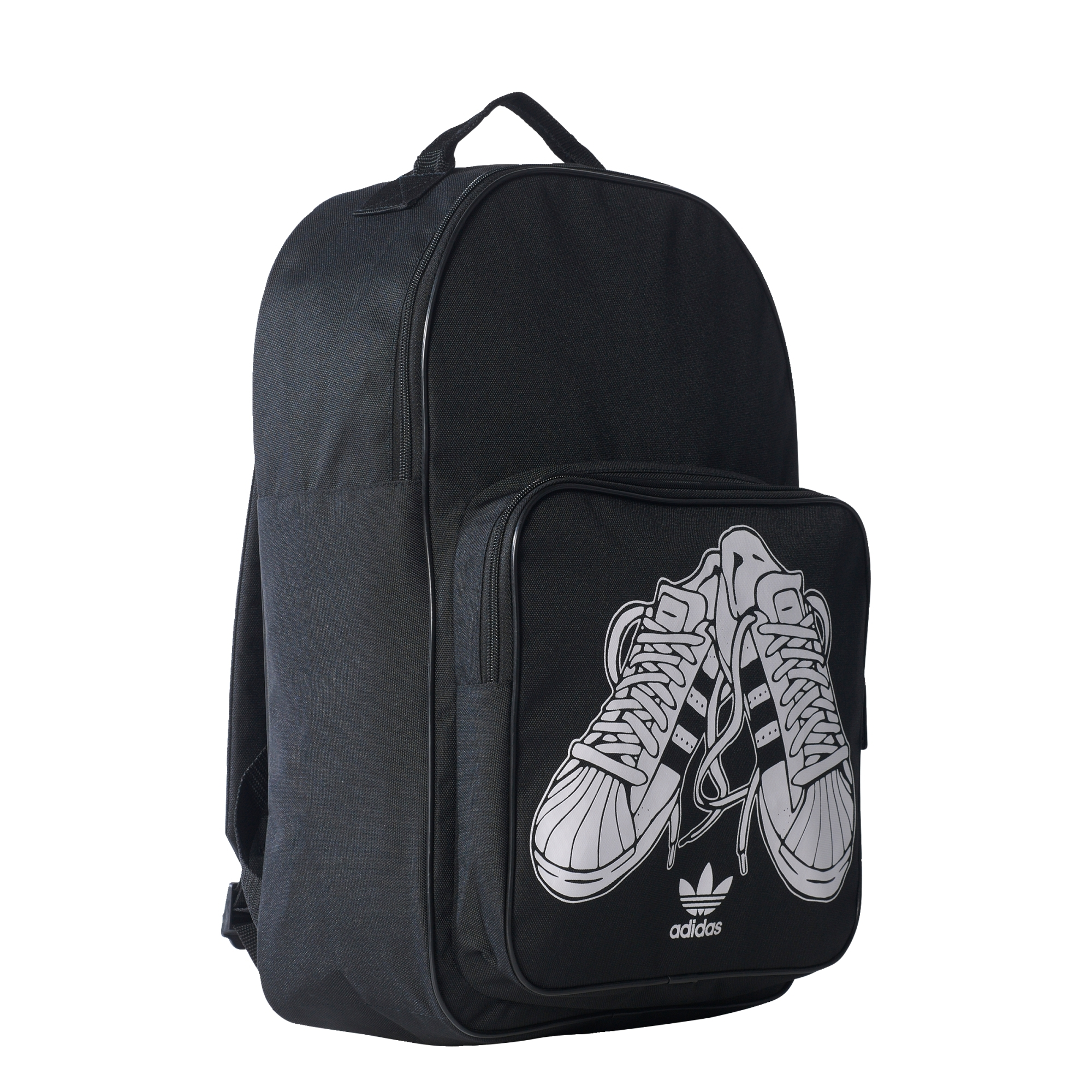 f60d8eaa2d1b Adidas Originals Sport Backpack Black White- Fenix Toulouse Handball
