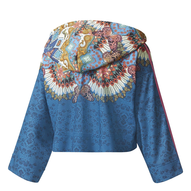 Borbomix Hoodie Originals multicolor W Adidas Crop HwZnxRqvS