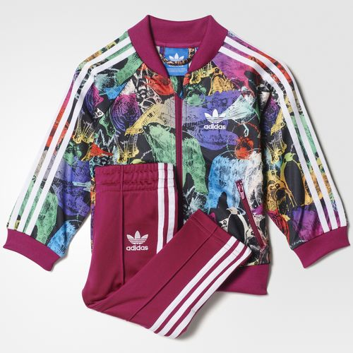 tocino alcanzar éxtasis  Adidas Originals Chándal Bebé Animal Superstar (multicolor/white