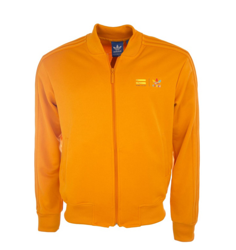 f1593edfc9619 Adidas Originals Chaqueta Mono Color Superstar Pharrell Williams (naranja)