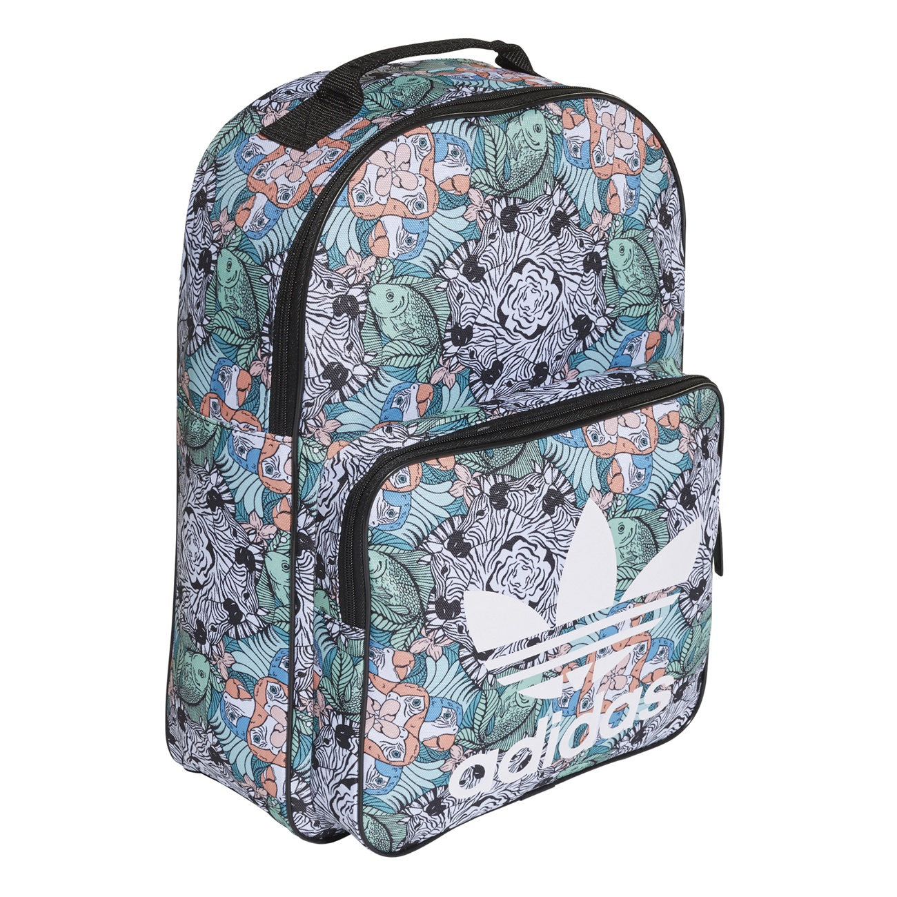 Classic Girlmulticolor Adidas Backpack Originals Animal EDH2YI9W