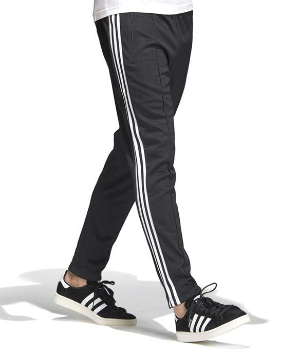 timeless design 26d6e e2e70 Adidas Originals Franz Beckenbauer Track Pants Black