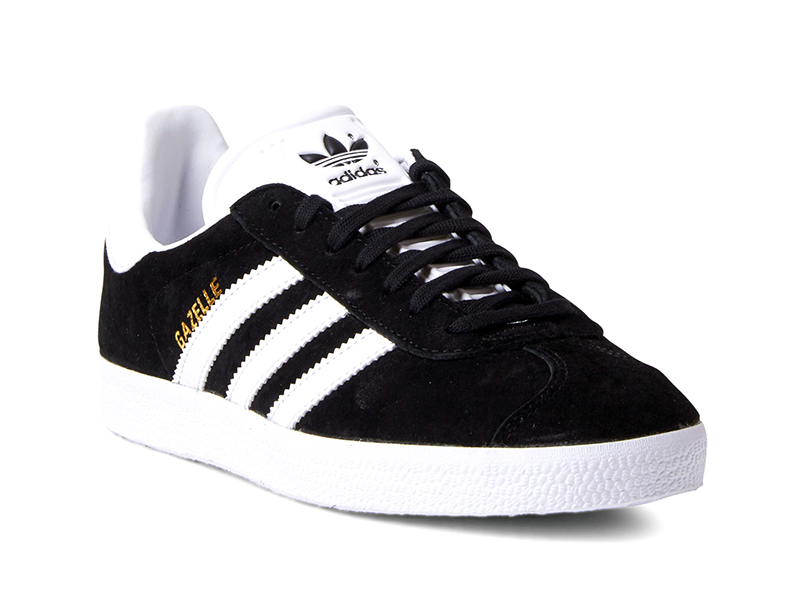 buy online c4bac 3fdaa Adidas Originals Gazelle (negro blanco)