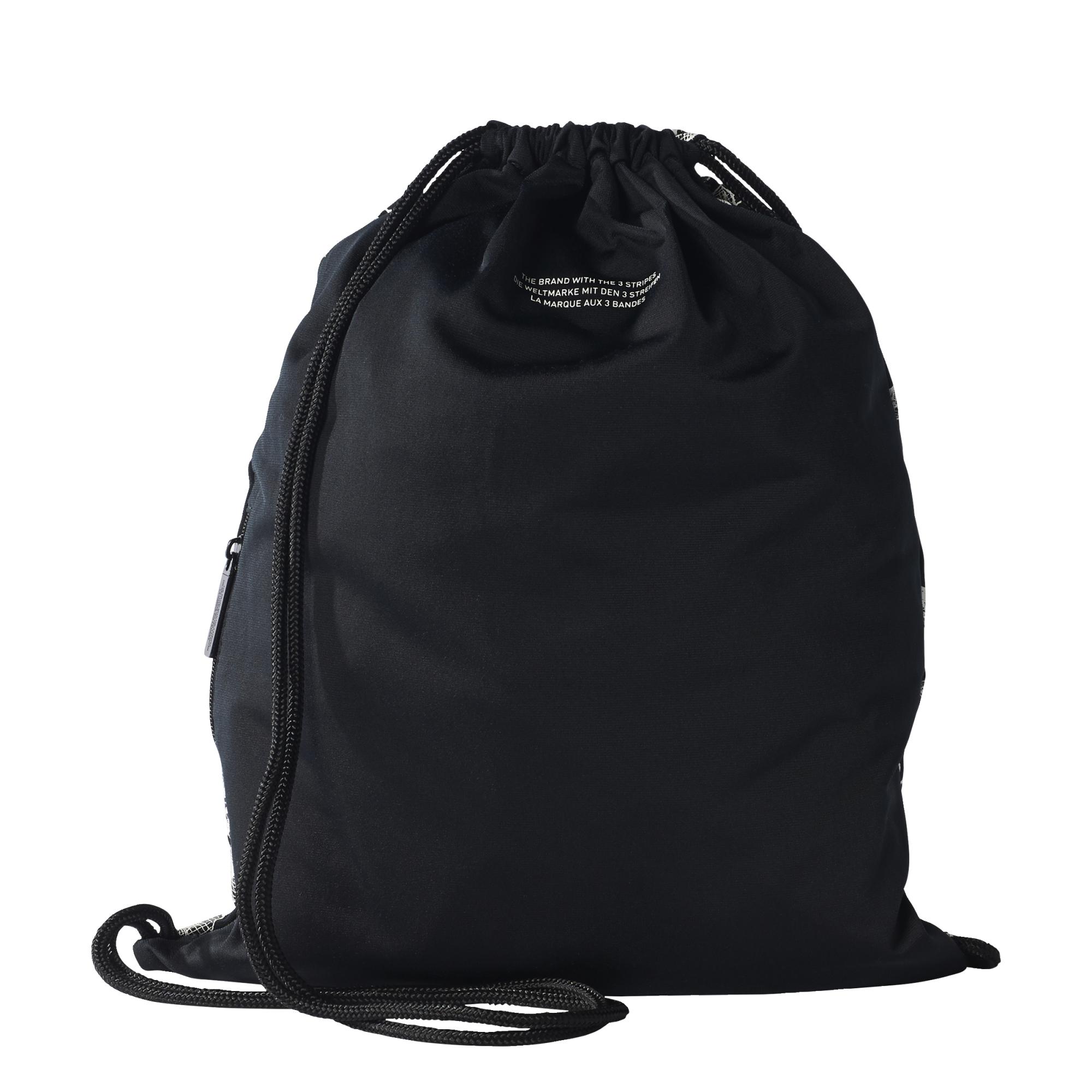 Adidas Originals Giza Gymsack (black white) 9bcb04f818b