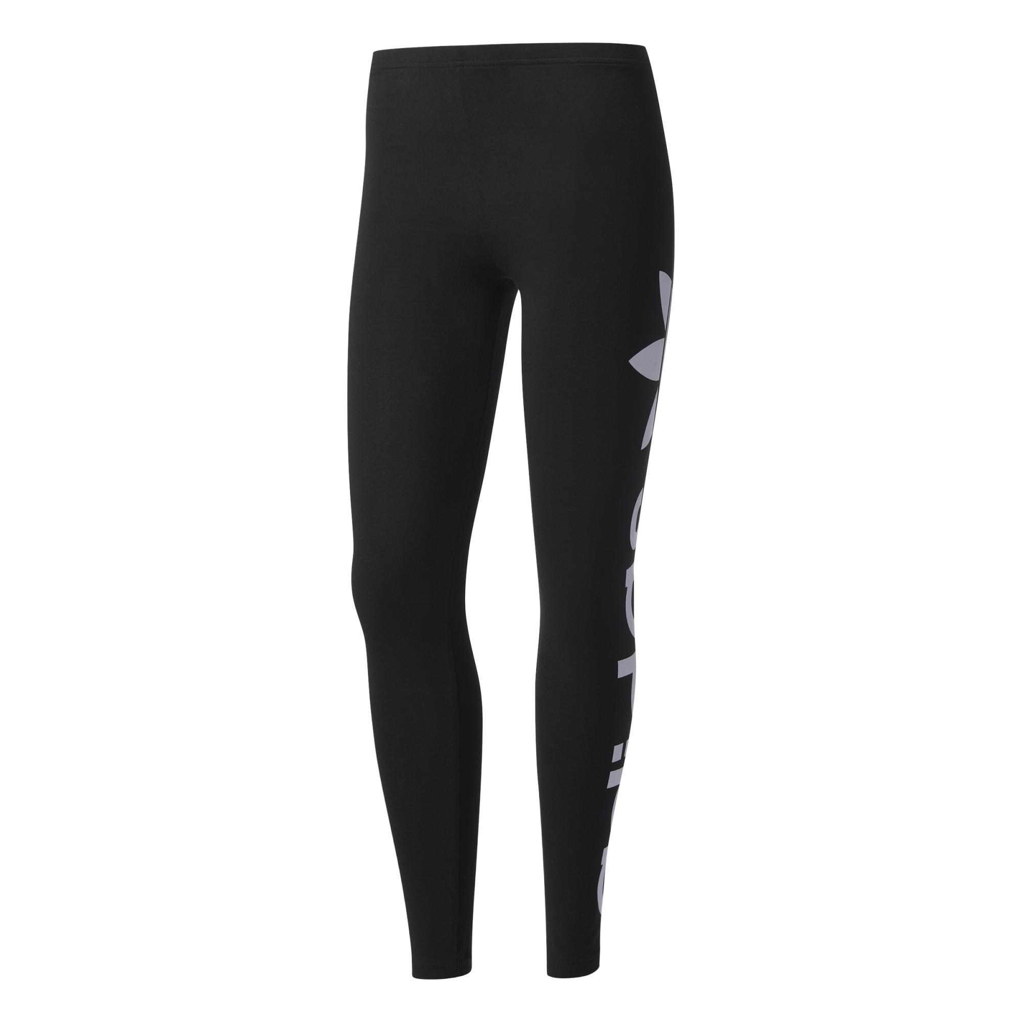 Junior Leggings blackwhite Adidas Logo Linear Originals 67xgR8
