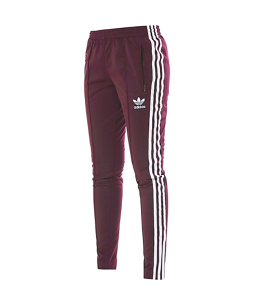 Adidas Originals Mujer Pantalón Superstar Track Top (maroon/lide