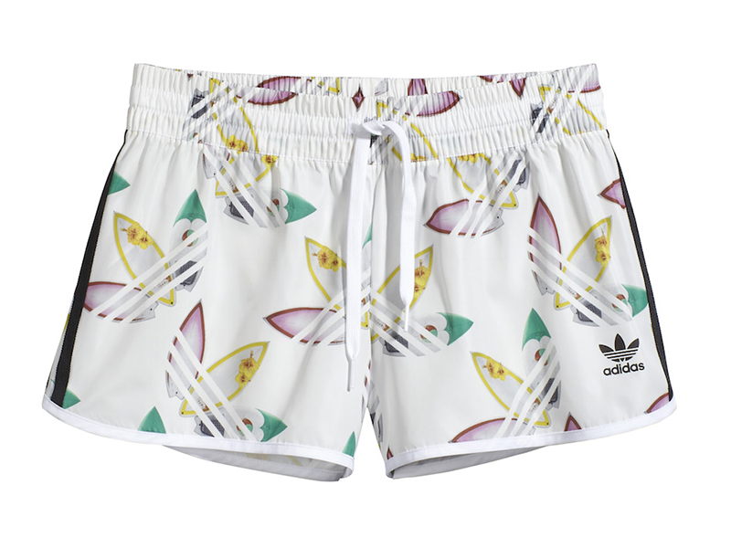 Gran universo Normalización Humano  Adidas Originals Mujer Shorts Surf By Pharrell Williams (blanco)