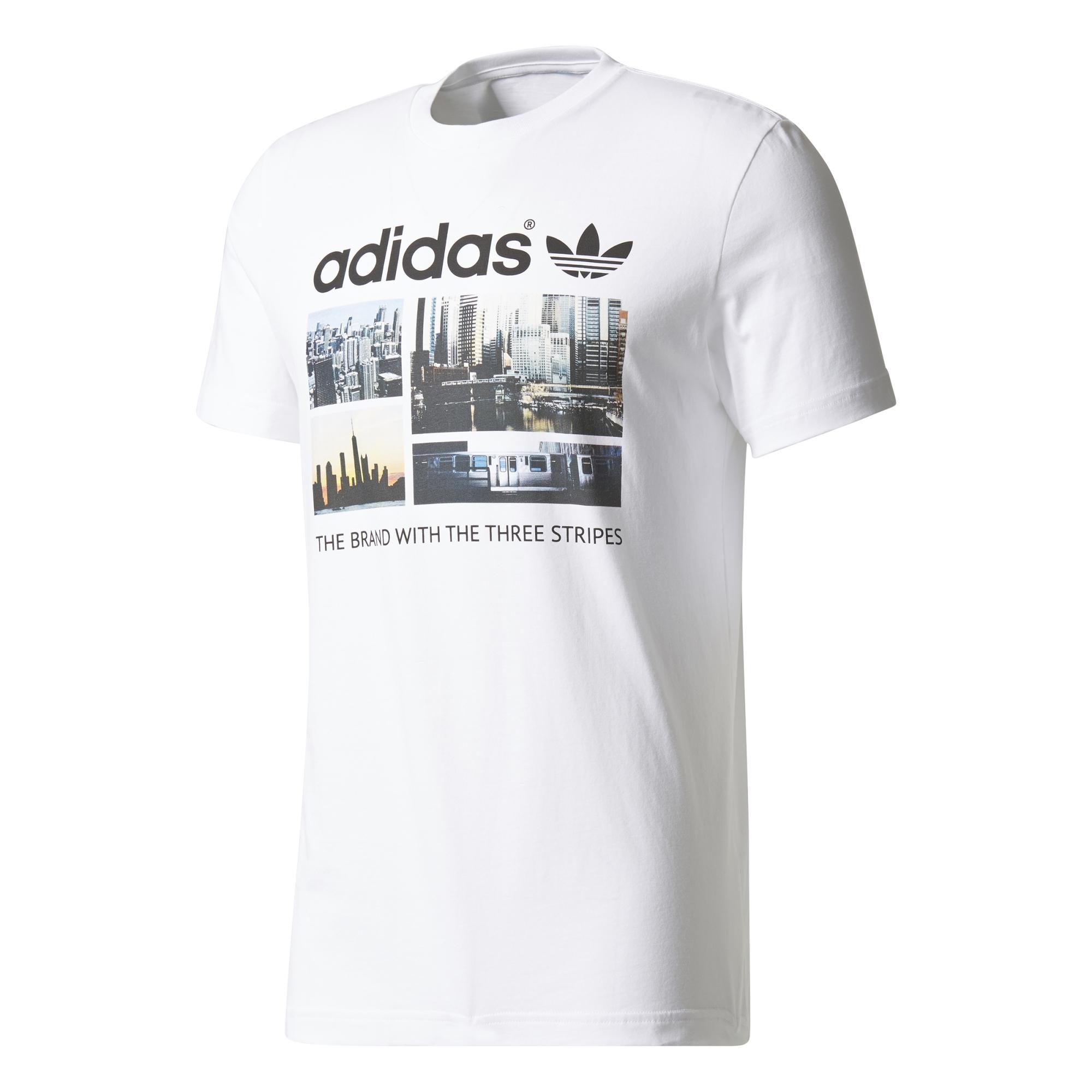 Berlin Adidas Tee Camiseta Ss Corta Manga Hombre Blanco De qdpdUWwrP 458b4853479c7