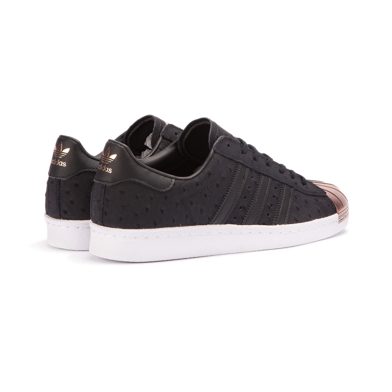 adidas Superstar 80s Metal Toe W Core Black Vapour Grey