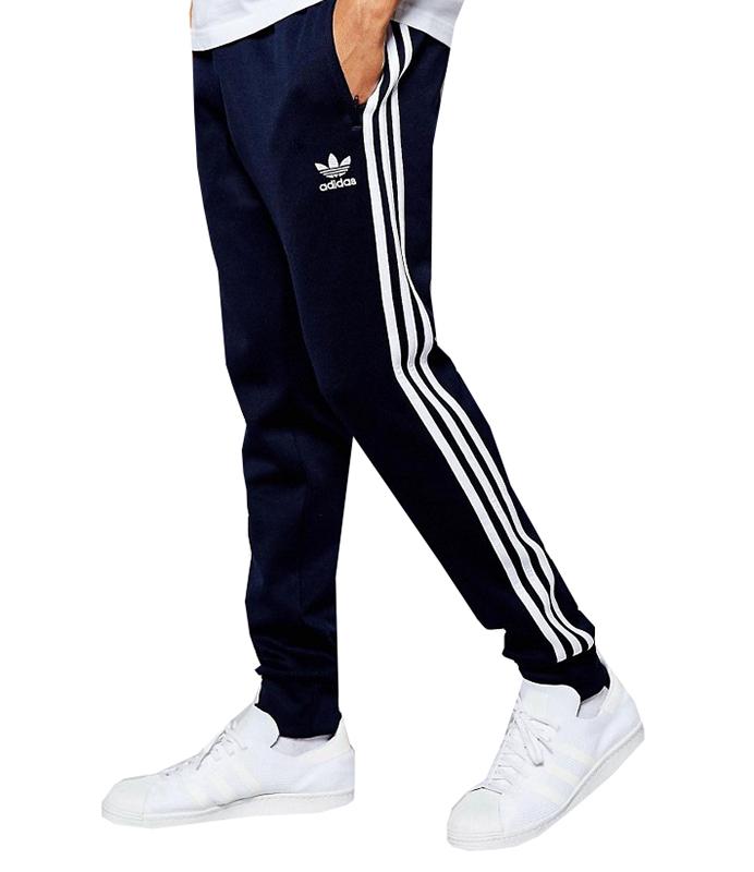 Adidas Originals Superstar Cuffed Track Pant (Navy)