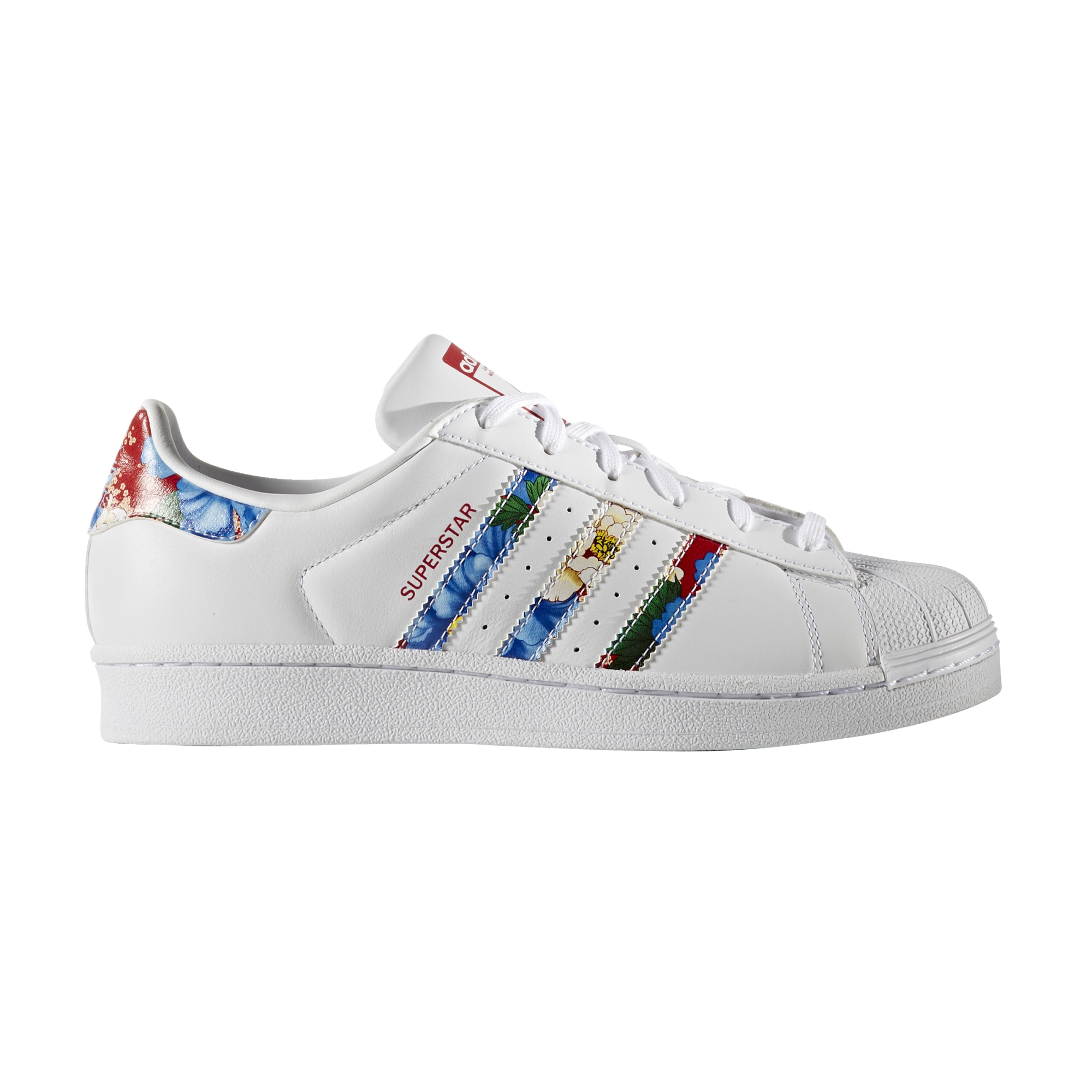 superstars adidas multicolor