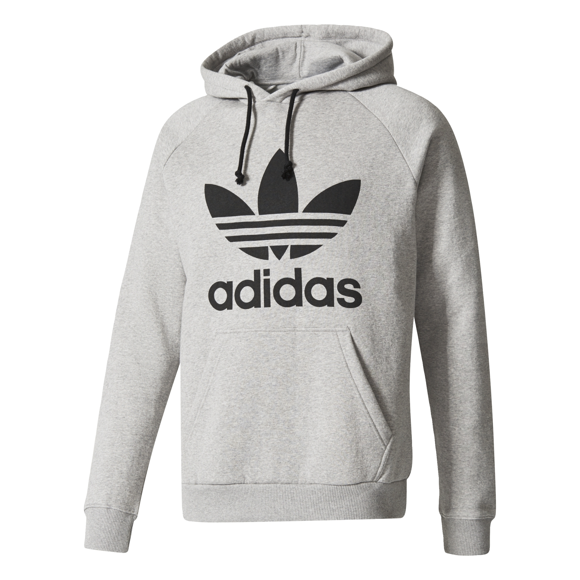 1af7a1a83b0f Adidas Originals Trefoil Hoody (medium grey heather)