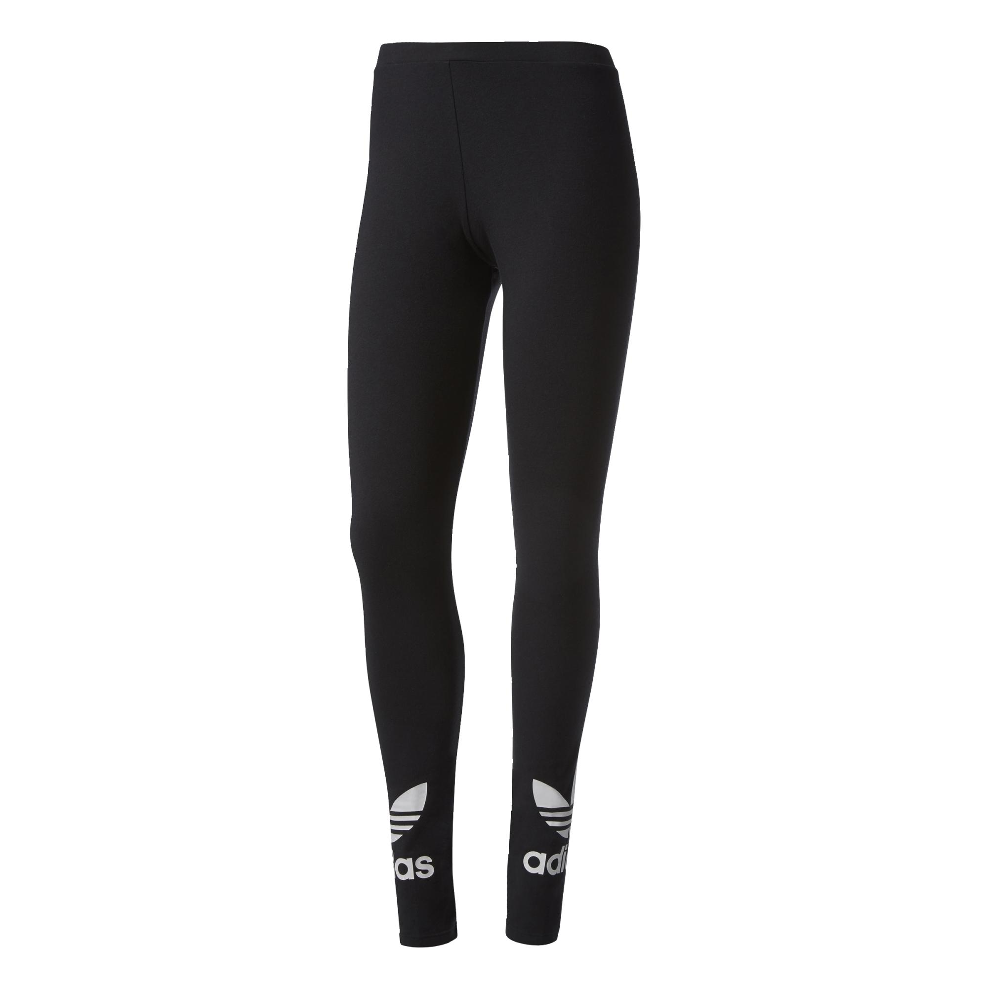 Adidas Originals Trefoil Leggings (black white) 941dba6ed310a