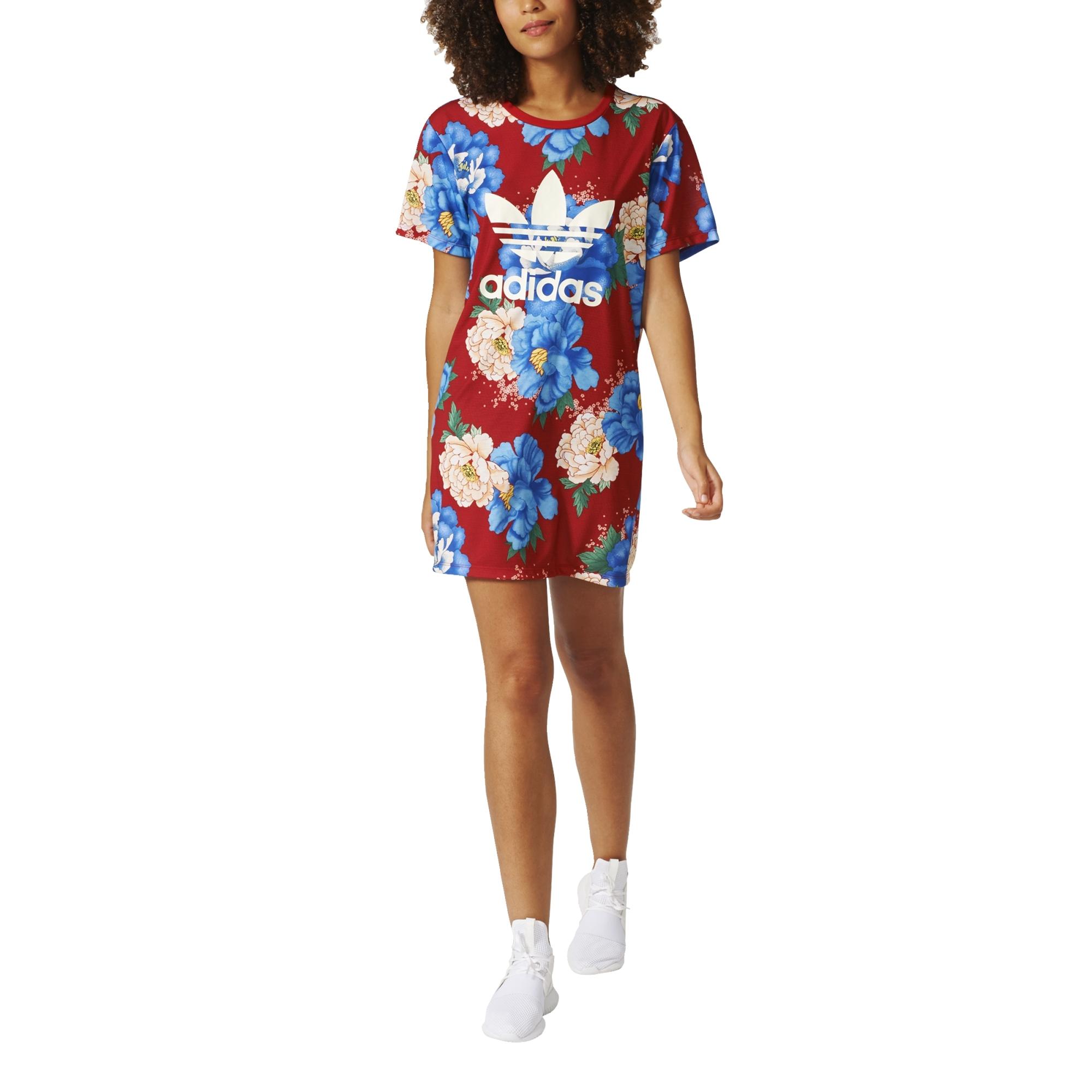 Policía Optimismo Peligro  Adidas Originals Trefoil Tee Dress
