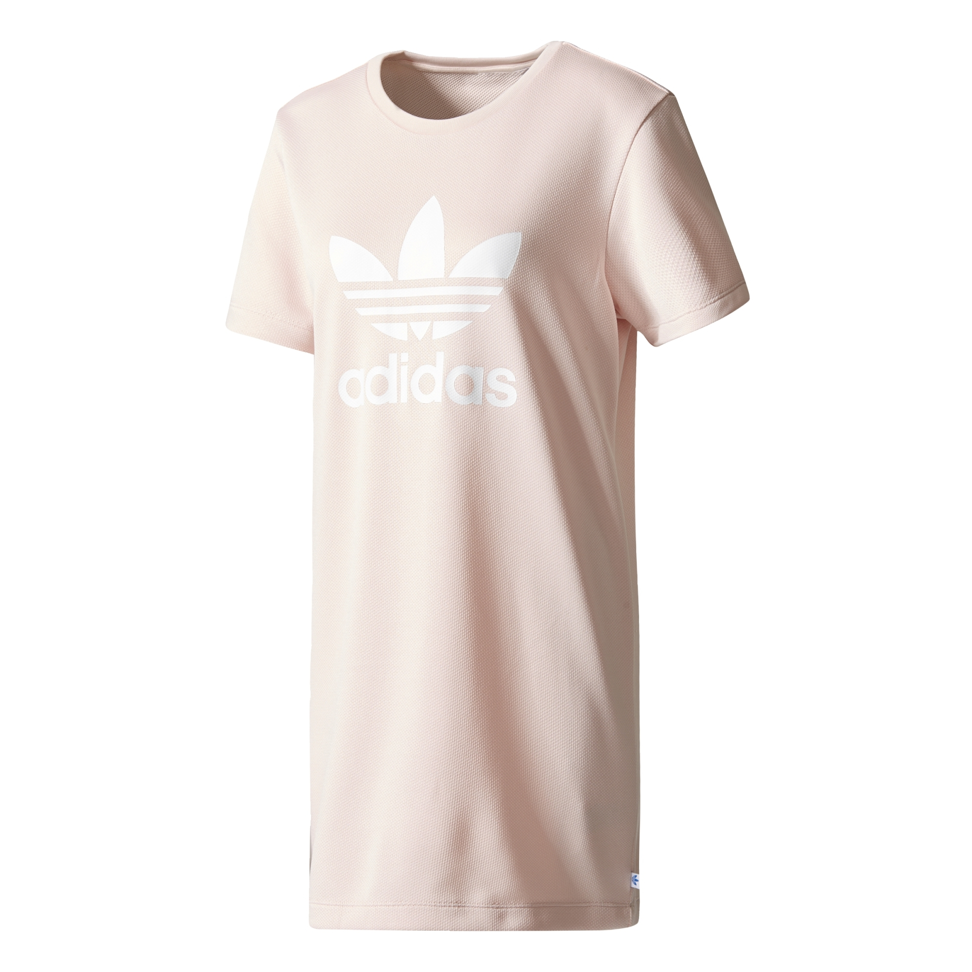 Adidas Originals Trefoil Tee Dress (pink icy) 8e20c49ca2a