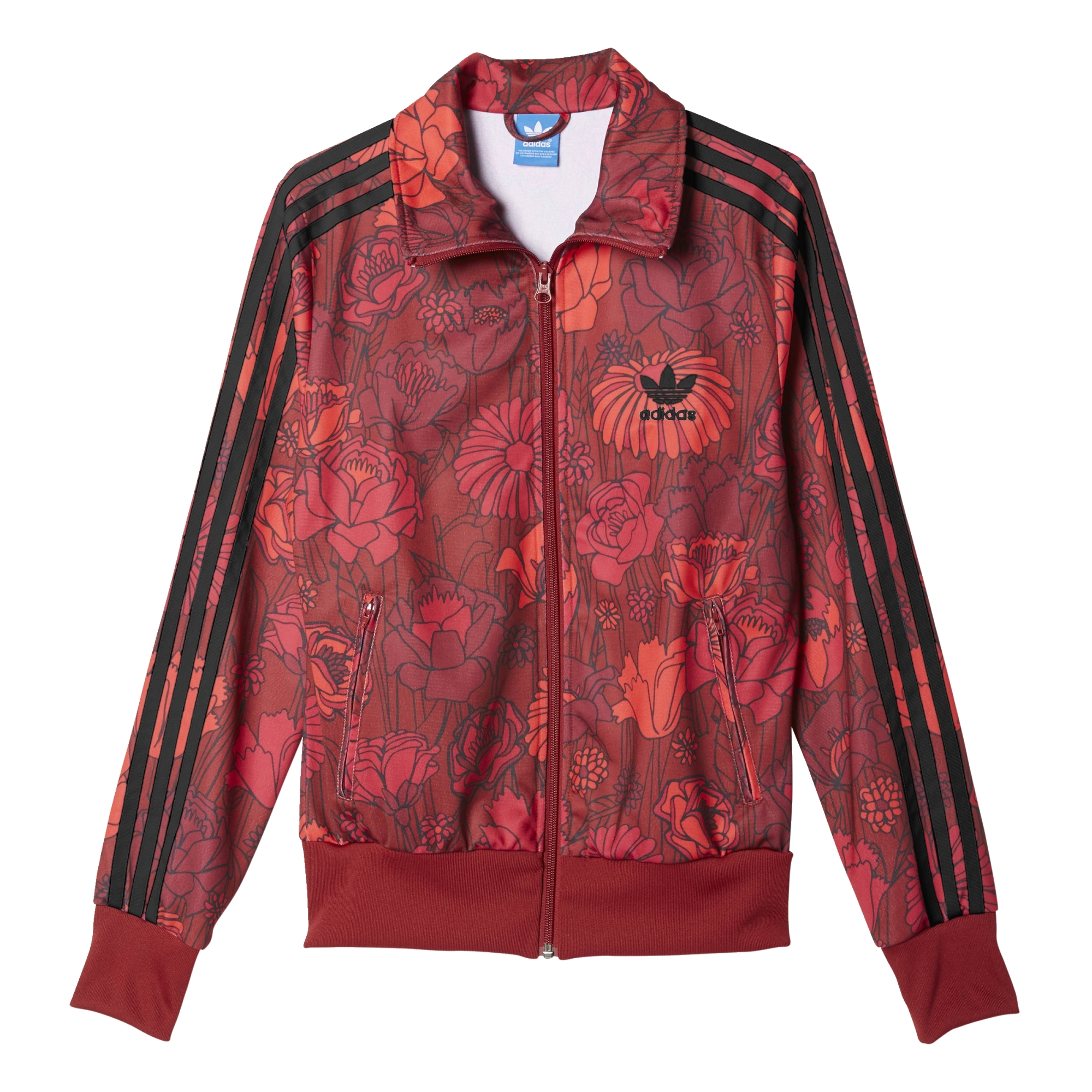 chaqueta adidas mujer flores
