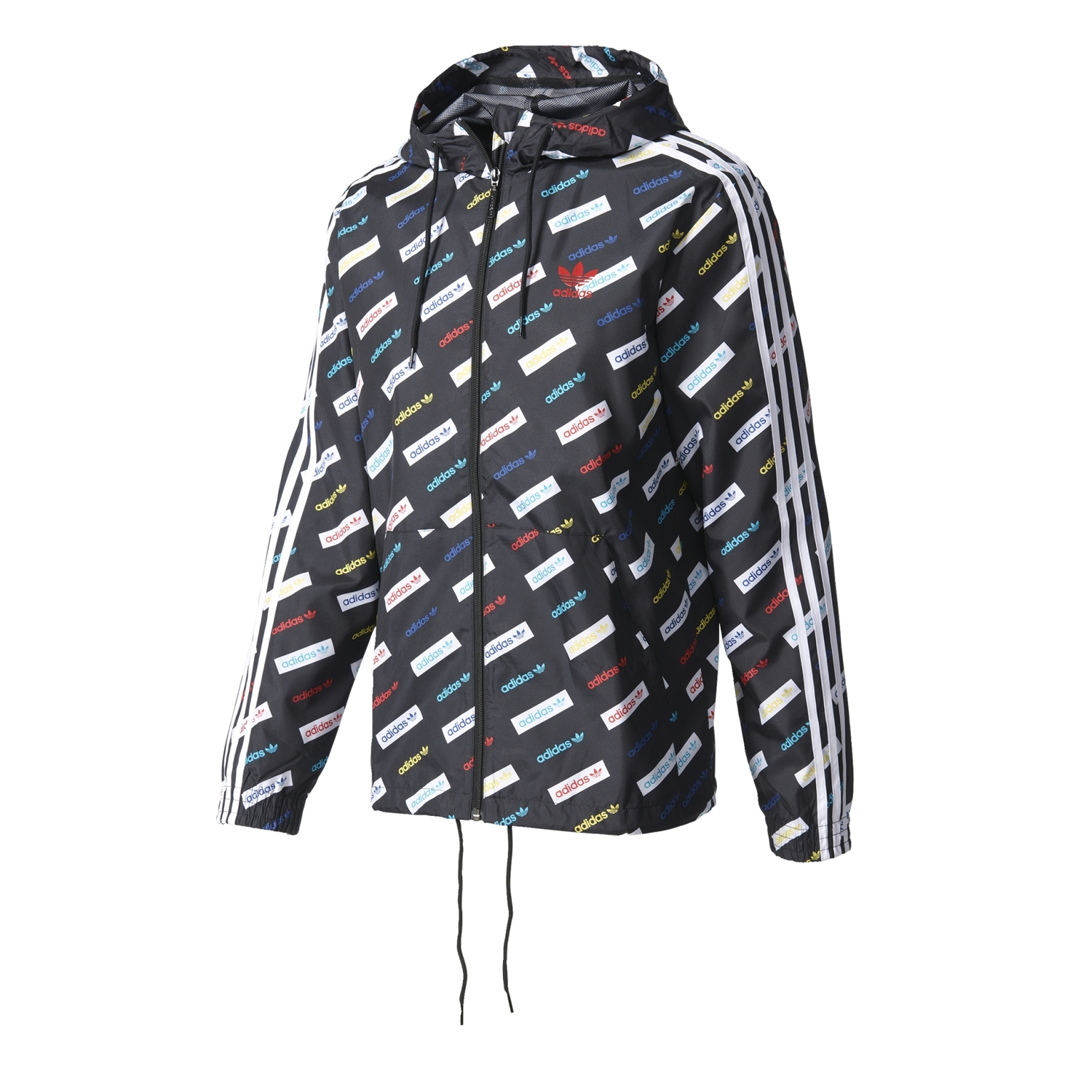 Adidas Originals Windbreaker Trefoil Linear Series AOP (multicolor) b18495d6bc6c6