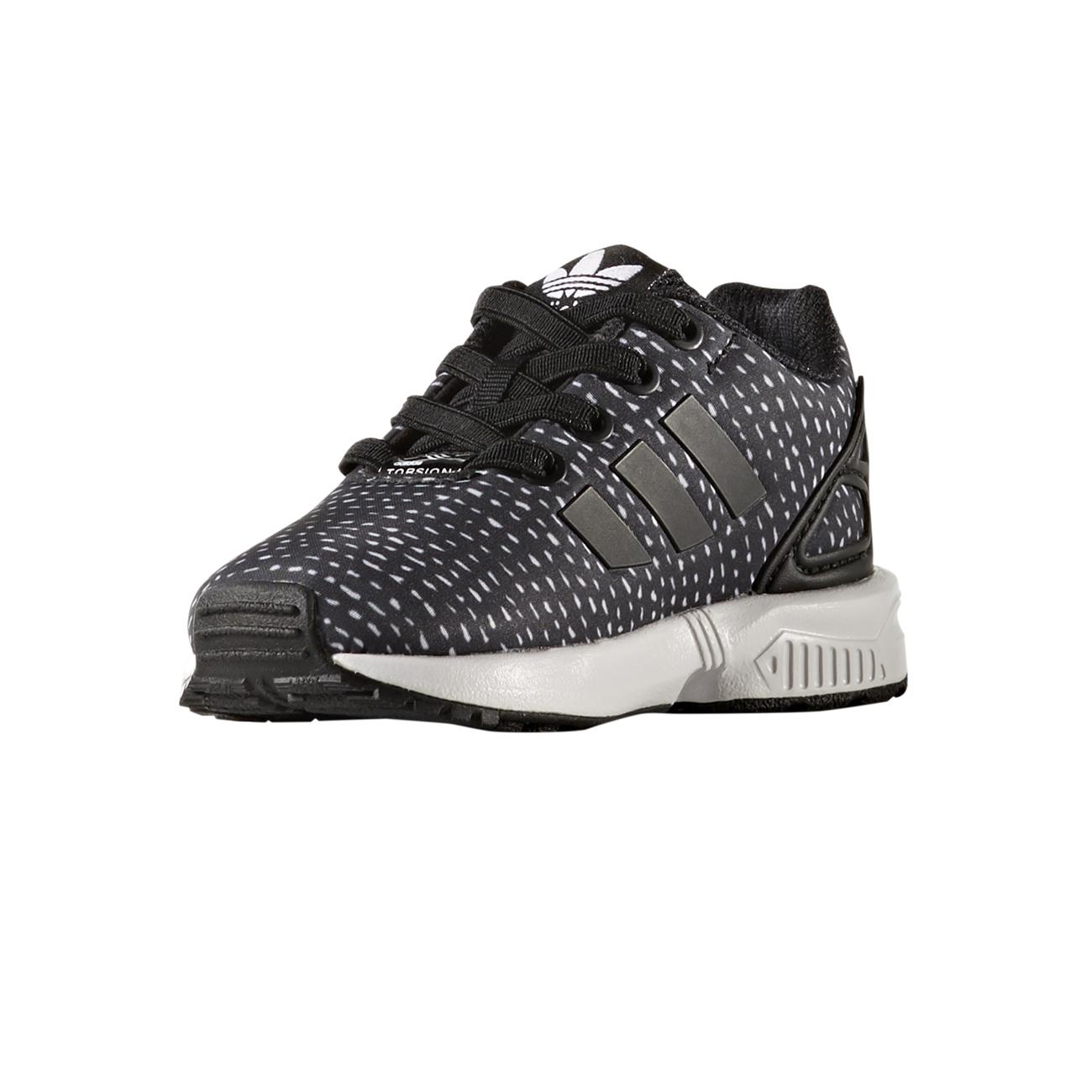 265755572f5a3 Adidas Originals ZX Flux EL Infant (core black core black ftwr white)