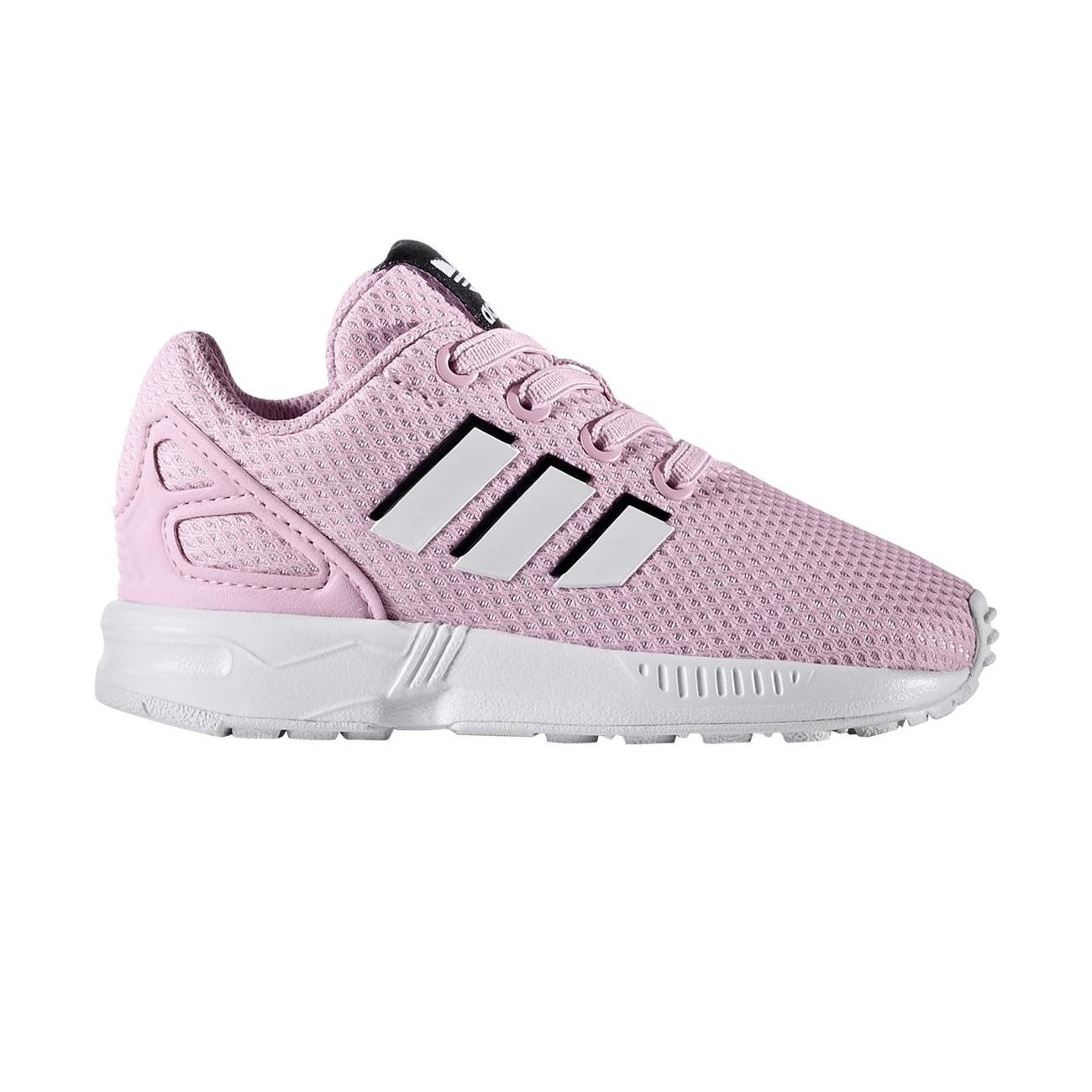 new concept d5044 f01a6 Adidas Originals ZX Flux EL Infant (frost pink ftwr white ftwr white)