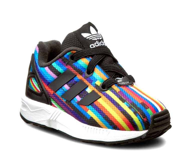 the latest 7e394 3f91a Adidas Originals ZX Flux EL Infants