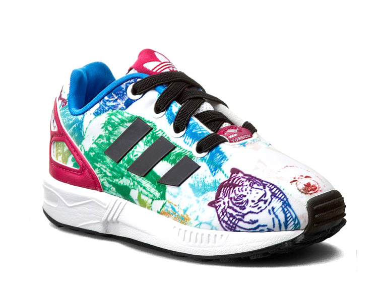 quality design cf4a3 1ba70 Adidas Originals ZX Flux Infants