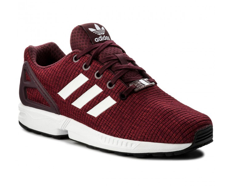separation shoes bf4b5 d8ad1 Adidas Originals ZX Flux Junior (Maroon) - manelsanchez.com