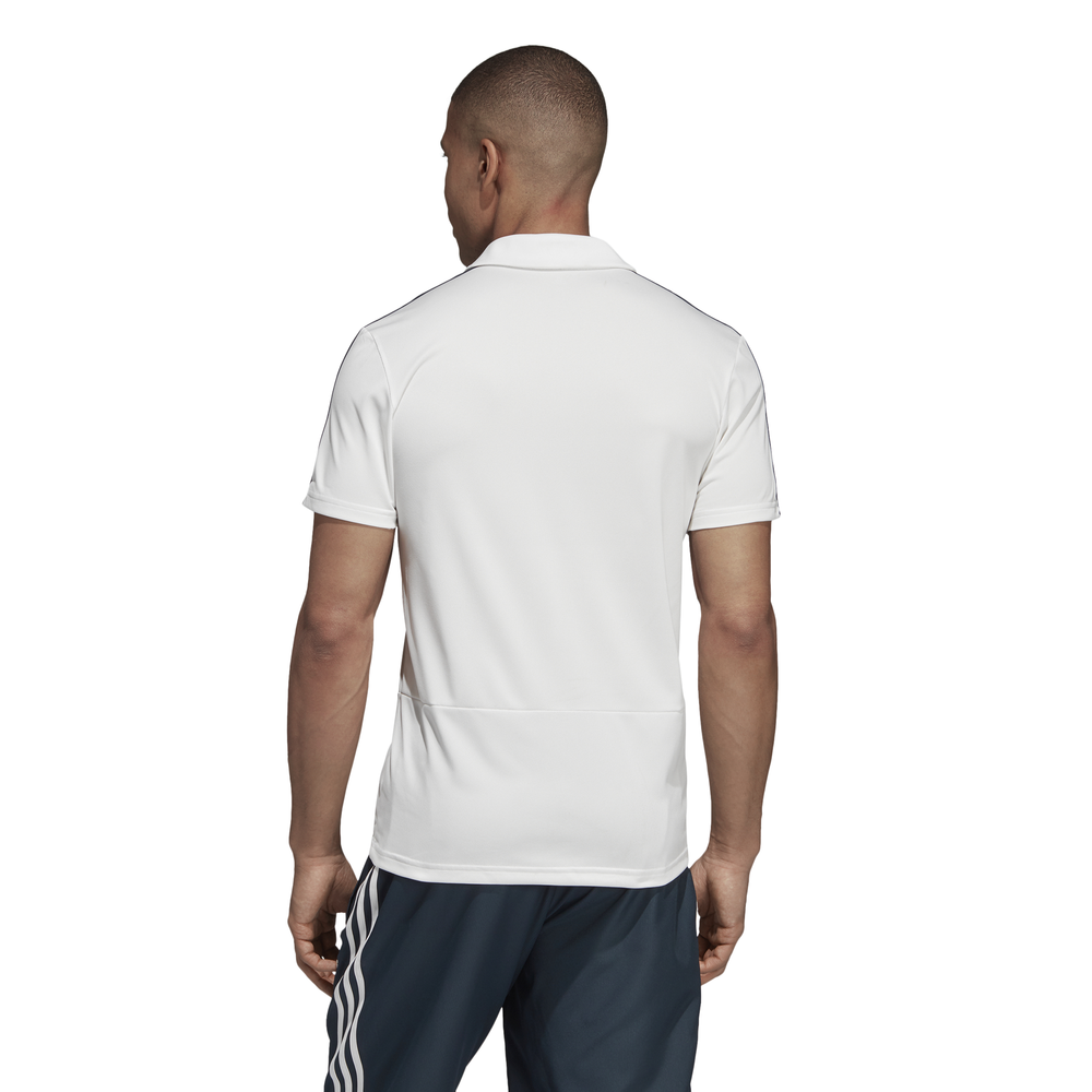 aab6c4aa Adidas Real Madrid Polo (White/Black) - manelsanchez.com