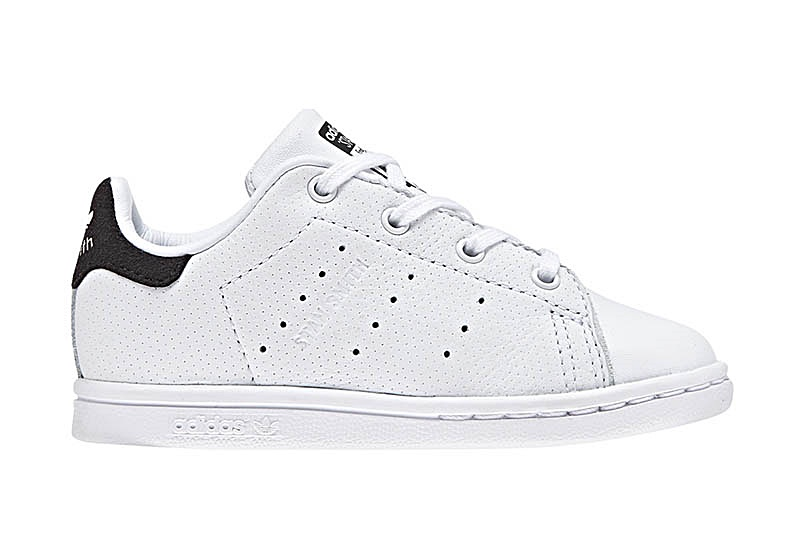 info for 2211c f14da Adidas Originals Stan Smith Infants (BLACK WHITE)
