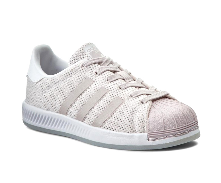 huge selection of 926e0 9c794 Adidas Superstar Bounce (Purple Footwear White)