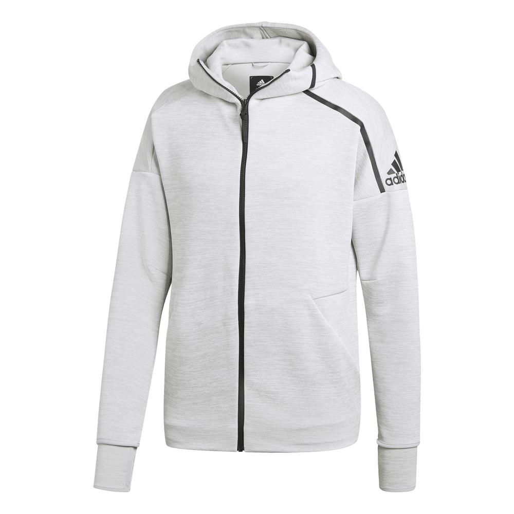 Adidas Z.N.E. Fast Release FZ Hoodie (Zne Htr Ash Silver) c35b165acc190