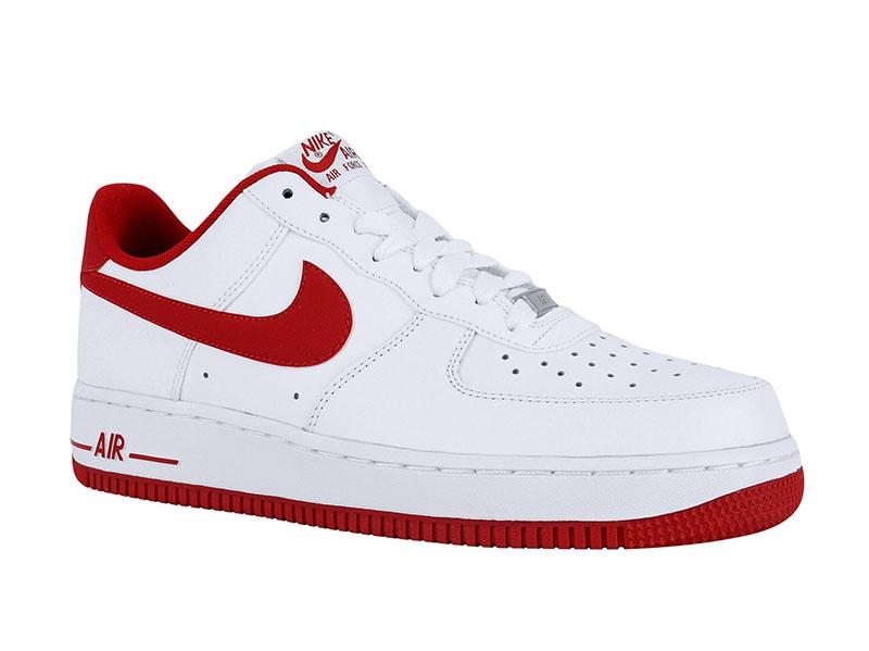 nike air force 1 blanco y rojo
