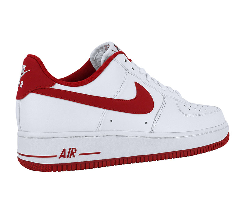 air force 1 rojo y blanco