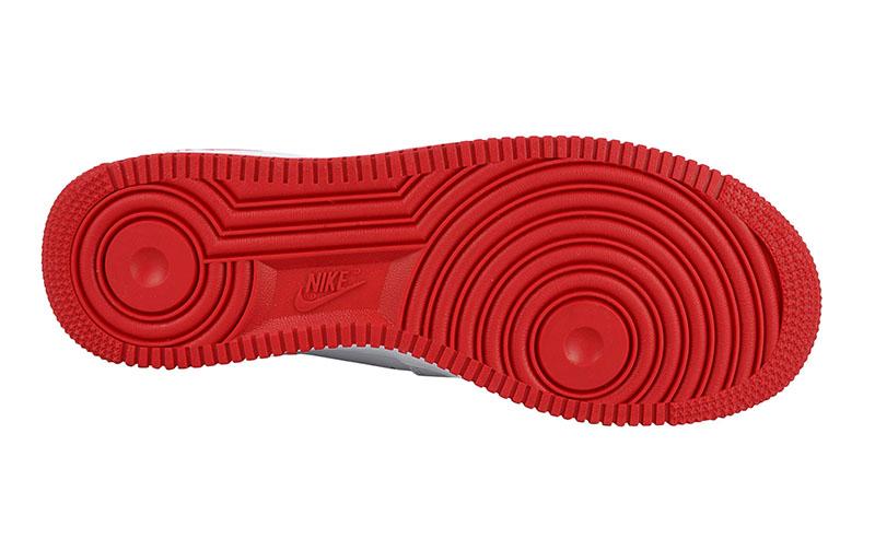 air force 1 logo rojo