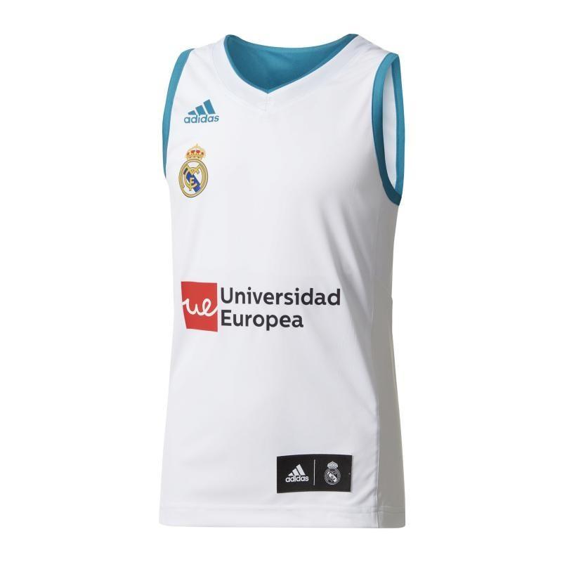 Camiseta Niño Real Madrid Basket 2017 18 (1ª Equipación) 764b5e05d686d