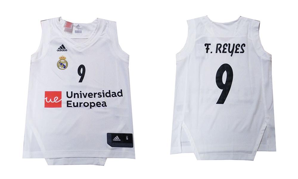 Camiseta Niño Réplica Felipe Reyes  9  R. MADRID 2018 19 (1ª Equipación) 34f8801b524c6