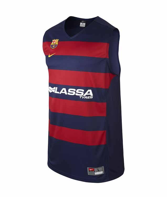 Camiseta Réplica Basket FC Barcelona - manelsanchez.com dd78cecd850