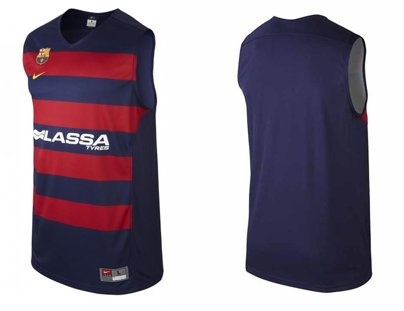 ... Img 1 Camiseta Réplica Basket FC Barcelona (421 azul grana) 59287b2fcd5