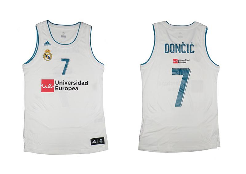45c87cabca78b Camiseta Réplica Luka Doncic  7  R. Madrid 2017 18 (1ª Equipación)