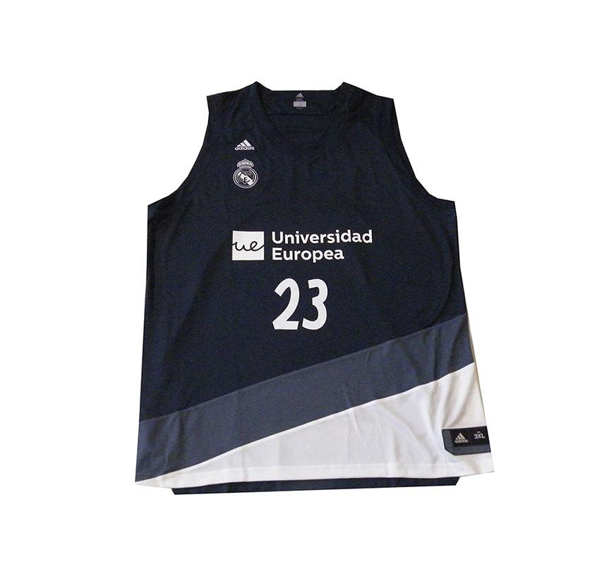 a14ea503960 Camiseta Réplica Sergio Llull #23# R. Madrid 2018/19 (2ª Equip)