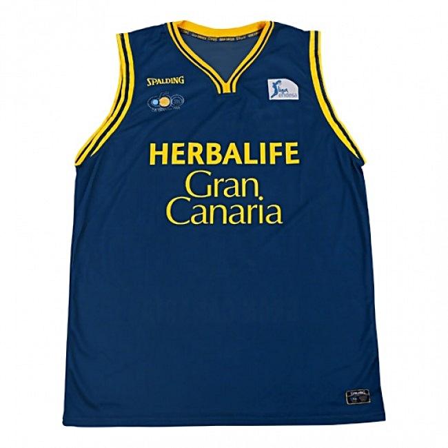 Replica Camiseta Canaria Acb Niño 2ª 1314 marinoamarillo Gran XHwaSvzxH