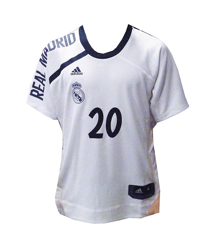 nueva estilos los Angeles baratas Cubre Camiseta Adidas Real Madrid Shooter Jersey Carroll