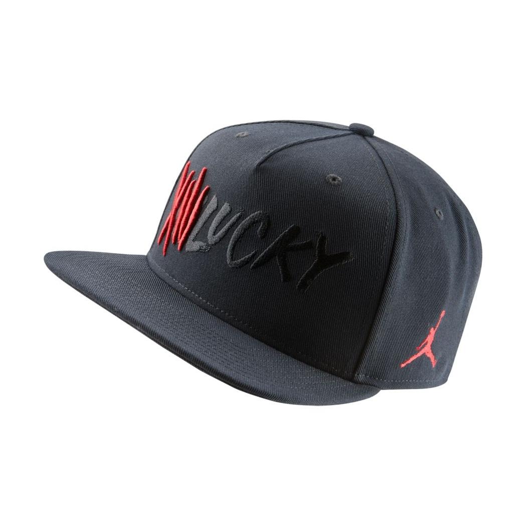 Jordan AJ 13 Hat (010 black gym red) - manelsanchez.com 871da5b1c220