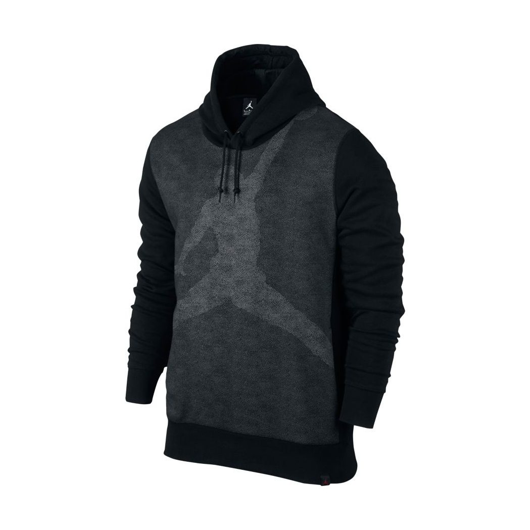 JUMPMAN BRUSHED GRAPHIC PULLOVER HOODIE