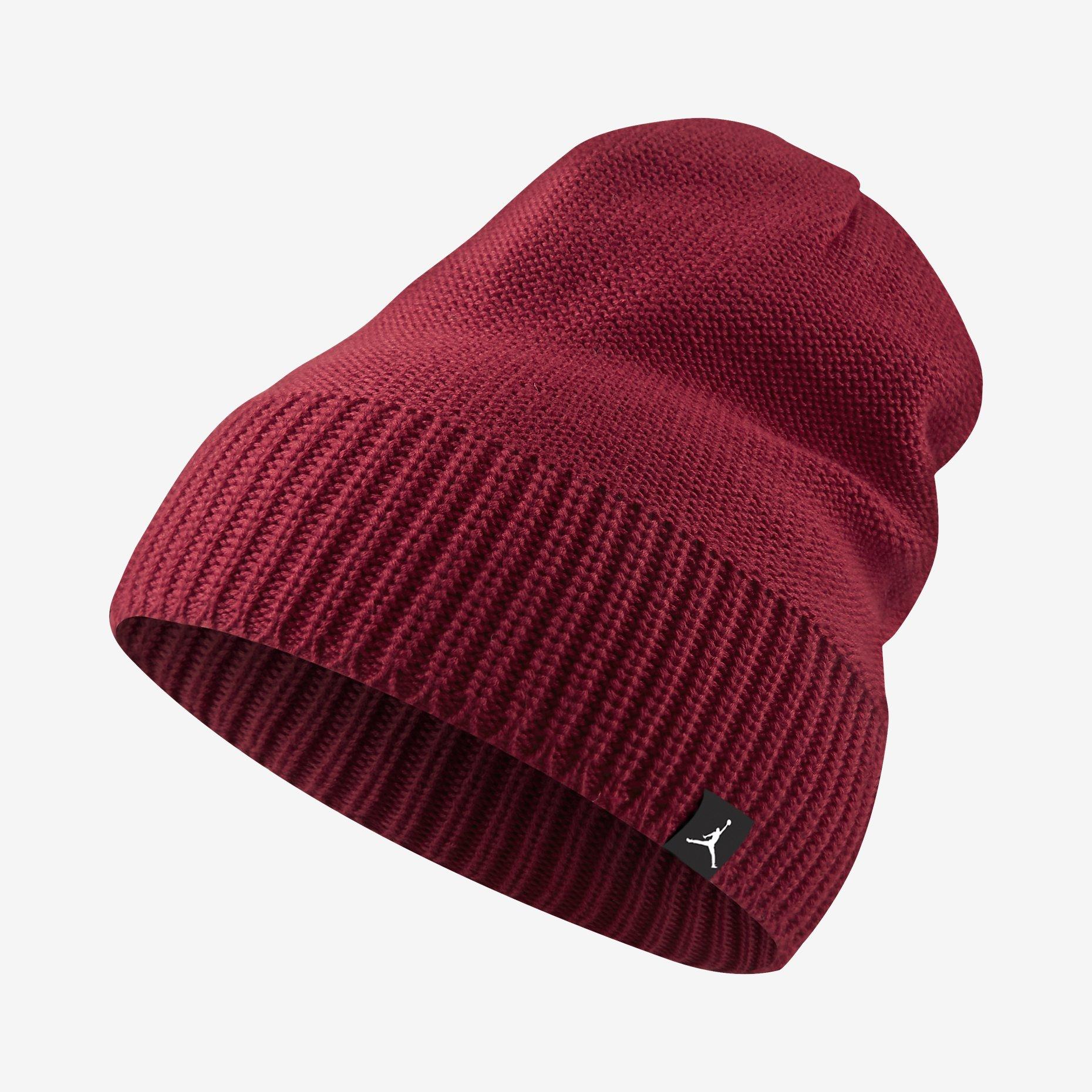 3b054221f42d22 Jordan Jumpman Beanie Knit Hat (rojo) - manelsanchez.com