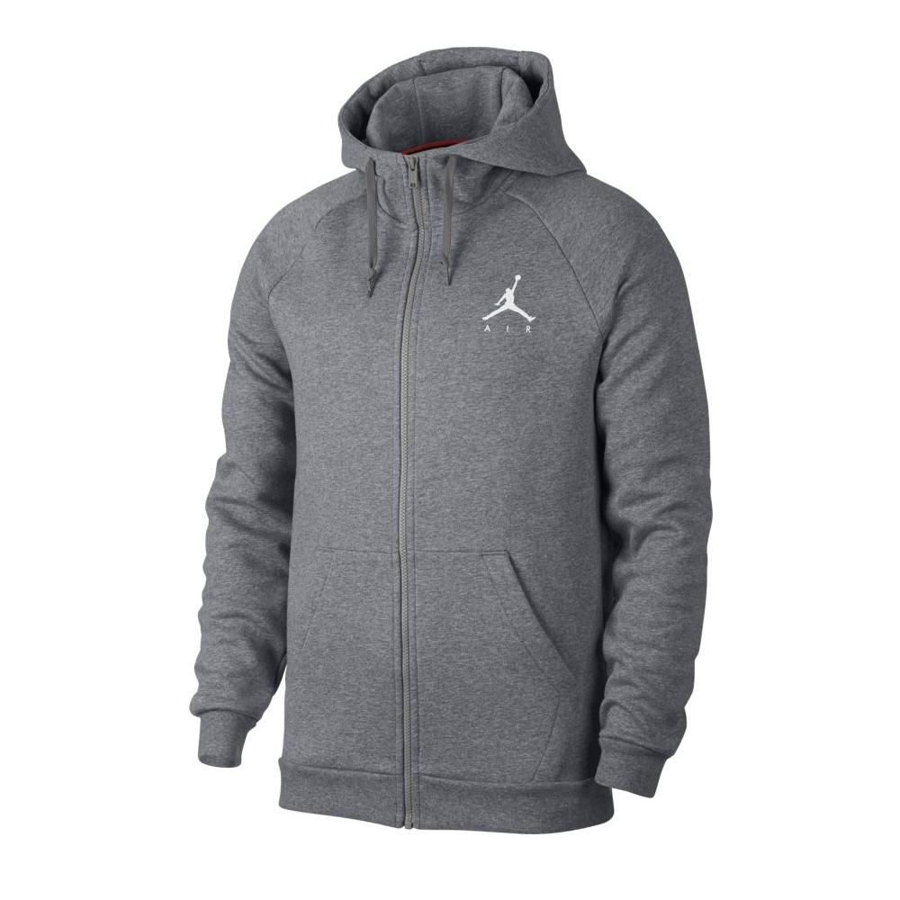 c99ffdc6adca Jordan Jumpman Fleece Full-Zip Hoodie Carbon Heather