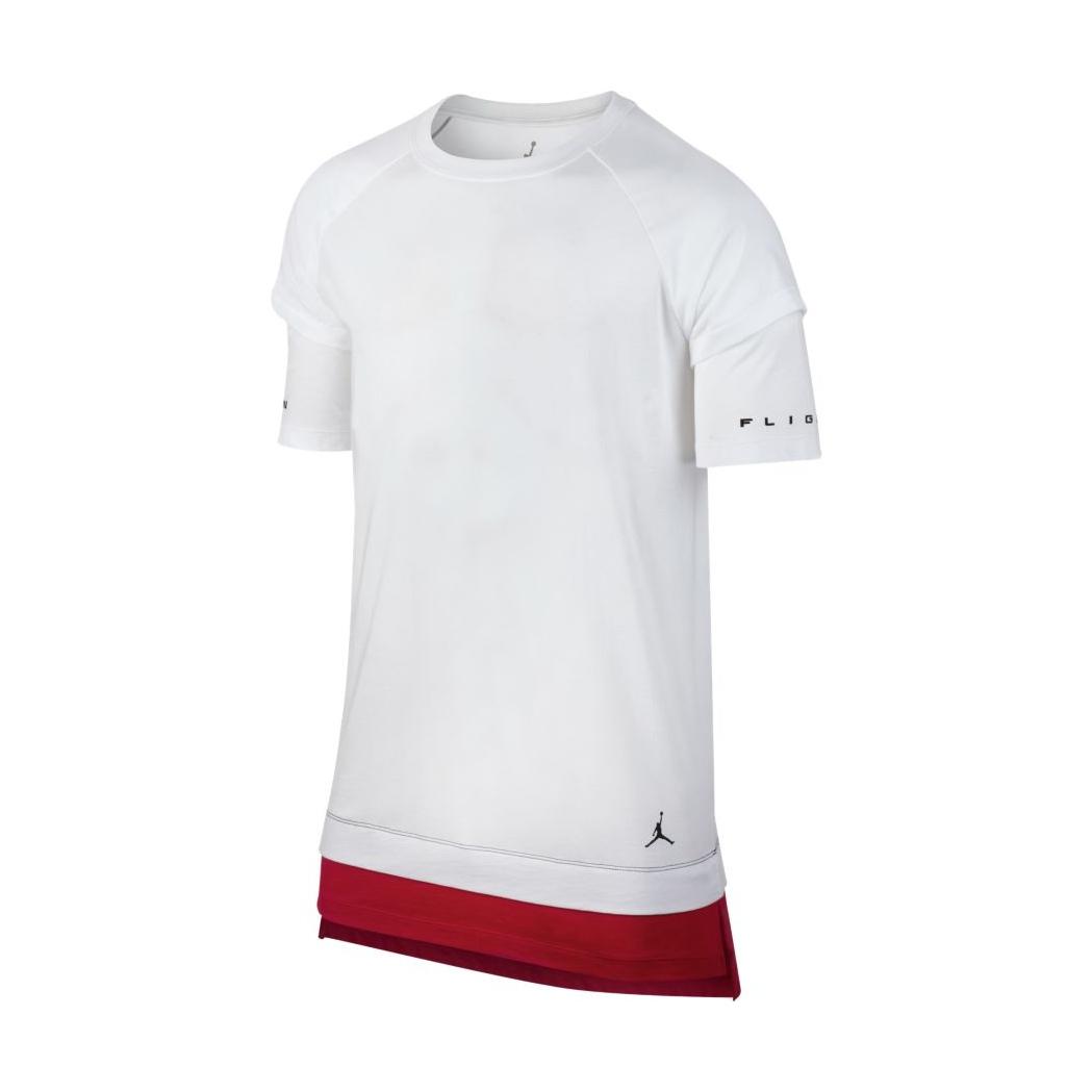 Jordan Sportswear AJ 13 Double Layer T-Shirt (100) d6e6e4299c43c