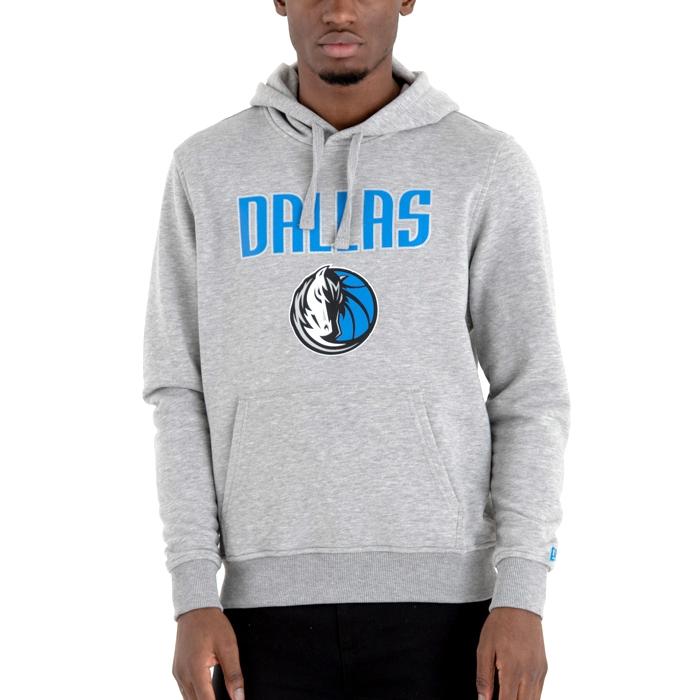 New Era Dallas Mavericks Po Hoody (Gray) - manelsanchez.com 5d4dc83f94ece