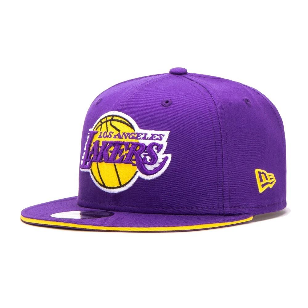 ed17bbbc0636b New Era Los Angeles Lakers Team Snapback 9FIFTY