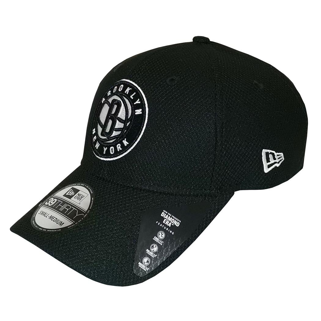1bd5f7b23c36 New Era NBA Brooklyn Nets Diamond Era 39THIRTY Cap